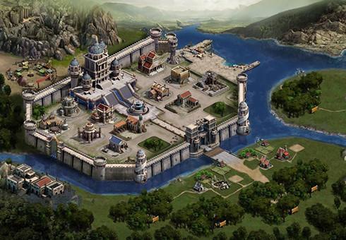 列王的纷争城堡外观图 20-30级城堡外观大放送